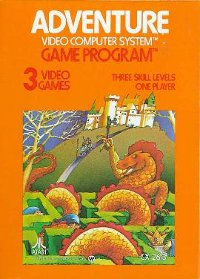 Featured Game Cover Atari Adventure